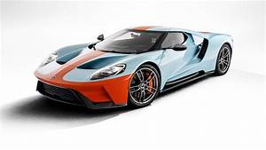 2019 Ford GT Heritage Edition Wears Gulf Livery in Monterey | Automobile Magazine