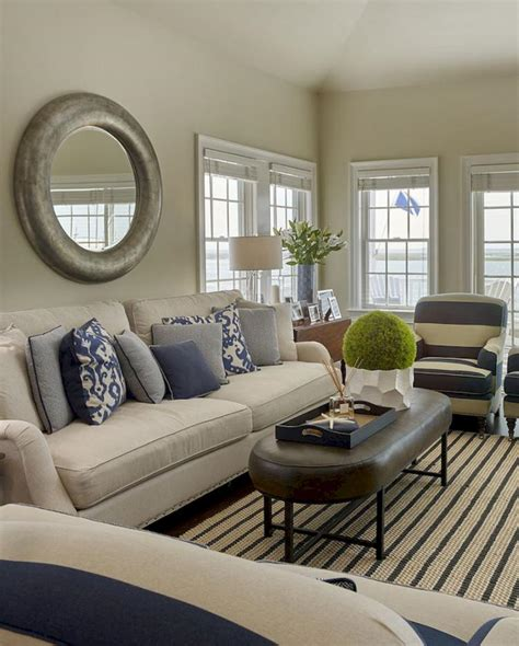 inspiring coastal living room decor ideas