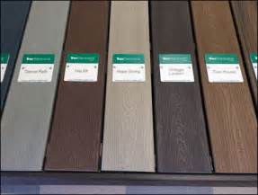 Trex Transcend Decking Colors by Trex 174 Color Coded Deck Display Fixtures Up Retail Pop