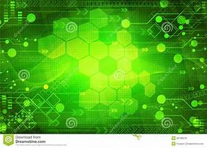 Abstract Digital Green Background Stock Illustration ...