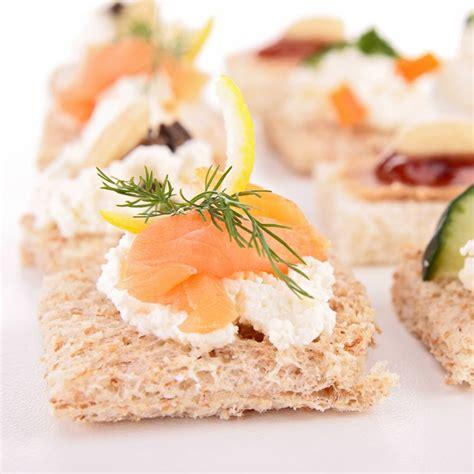 recette canapés au saumon fumé ou autres poissons fumés
