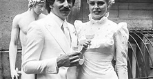 Margaux Hemingway and Erroll Wetanson 1975 | Wedding ...