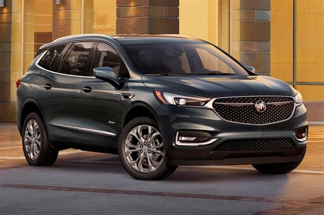 crossover cars 2018 2018 buick enclave avenir first look redesigned flagship