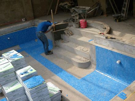 How To Install Pool Tile  Tile Design Ideas