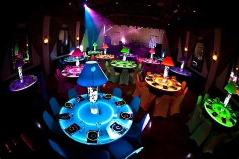 Neon Colors Decorations by 30th Birthday Party Party Ideas Pinterest