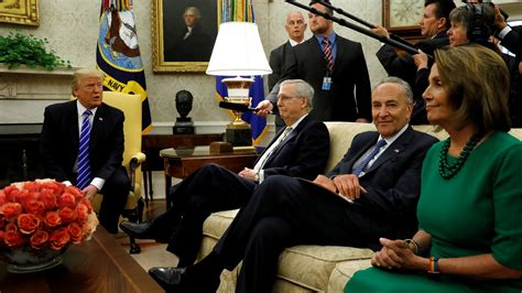 trump denies   deal  nancy pelosi chuck schumer