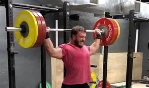 Dmitry Klokov 152 5kg Behind The Neck Snatch Grip Press