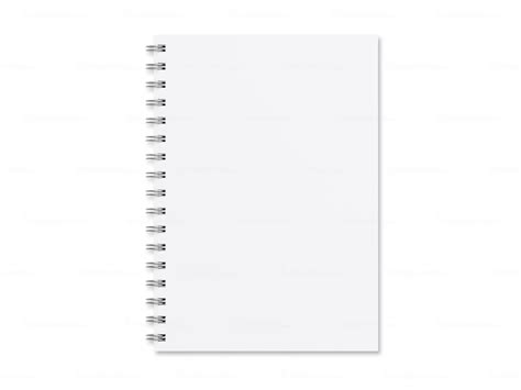 Blank notebook template