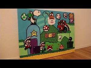 Bügelperlen Super Mario : diy b gelperlen bild super mario perler beads super mario acryl bild acrylic painting ~ Eleganceandgraceweddings.com Haus und Dekorationen