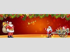 Christmas Santa Claus Background Banner, Christmas, Santa