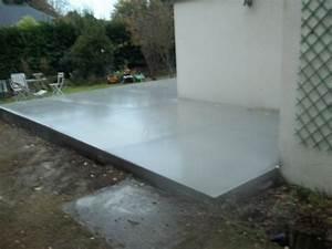 comment etancher une terrasse beton comment etancher une With comment faire une terrasse en pave autobloquant