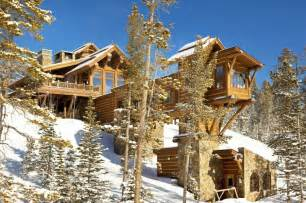 mountain chalet house plans mountain chalet with elevator and ski room modern house designs