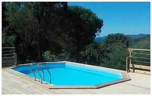 Liner Piscine Octogonale : le meilleur kit piscine sur le march woodfirst original ~ Melissatoandfro.com Idées de Décoration