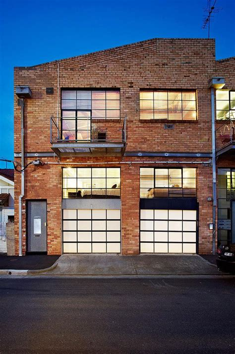 warehouse converted to house two story warehouse conversion in abbotsford homedsgn