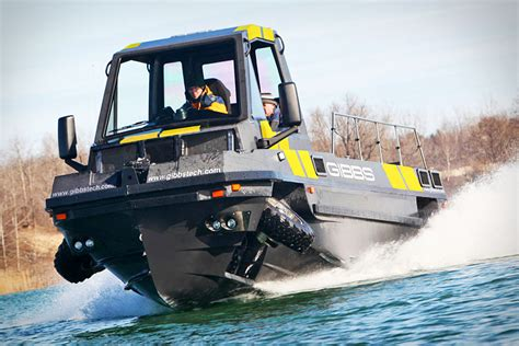 hibious rescue vehicle phibian is an awesome looking pickup truck speed boat combo
