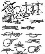 Coloring Pages Scouting Scout Cub Scouts Boy Printable Kleurplaten Sheets Teaches Ropes Twist Jobs Knots Nl Zo Boys Sheet Sitemap sketch template