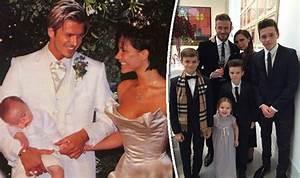 Victoria and David Beckham celebrate their 16th wedding ...