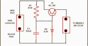 Electrical And Electronics Engineering  Usb Mobile Charger Circuit Diagram