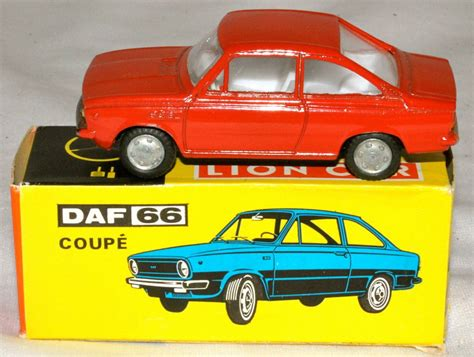 lion car daf 66 coupe model cars hobbydb