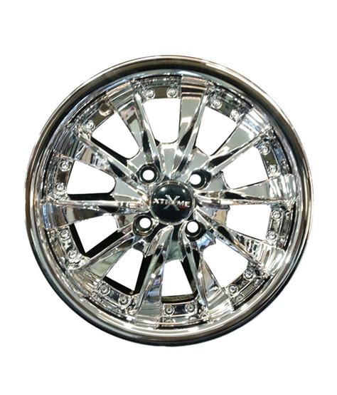 wheels chrome xtreme inch alloys holes installation
