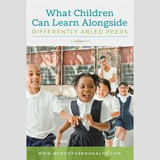 What Children Can Learn Alongside Differently Abled Peers