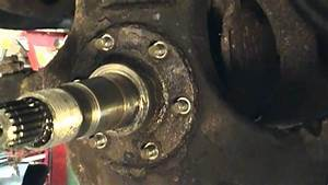 Front Axle U Joint Replace Or Change On A 1987