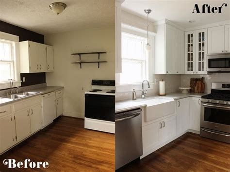 Small L Shaped Kitchen Remodel Ideas by Kitchen Cabinets Makeover Low Budget L Shaped Kitchen