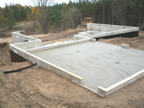 bcc poured walls general contracting  falmouth mi
