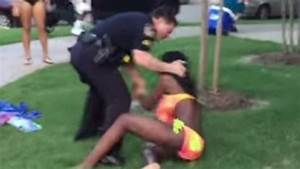 McKinney, Texas policeman pulls gun on teens at pool party ...