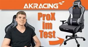 Orthopädischer Bürostuhl Test : akracing prox series test gr enberatung mit video ~ Orissabook.com Haus und Dekorationen