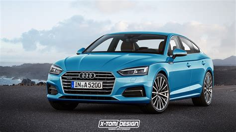 audi 4 door convertible 2017 audi a5 sportback and convertible will look like this