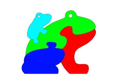 Scroll Saw Puzzle Patterns 19 Simple Print Ready Free To