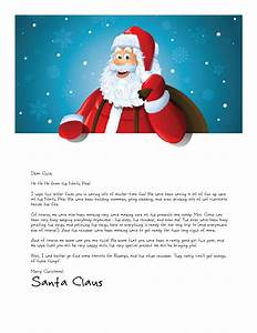 easy free letters from santa claus to children With a letter from santa