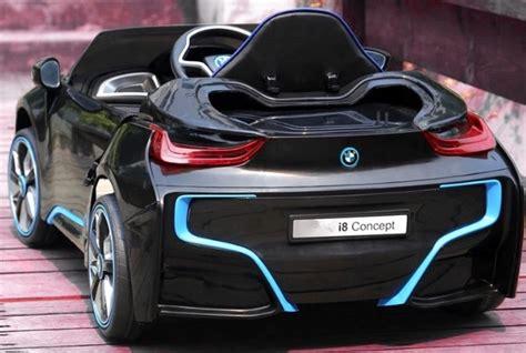 bmw  mini noire voiture electrique bebe pas cher