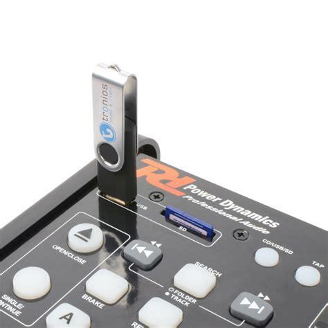 Pd Pdx125 Dual Cd Deck Mixer Usb Mp3 Dj Player Eq Fx Party