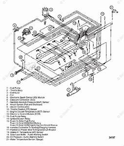 Mercury Mercruiser Inboard Parts By Size  U0026 Serial Gas Oem Parts Diagram For Wiring Harness  Efi