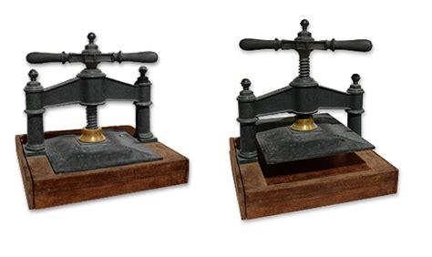 horloge sur le bureau presse d imprimerie