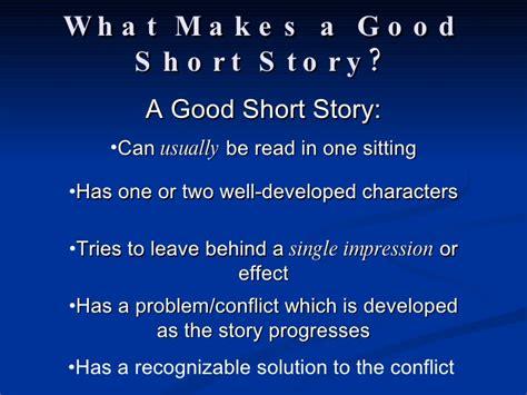 Short Story Notes 2009