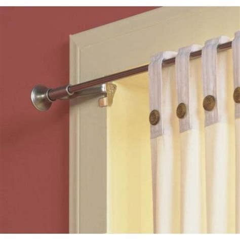 Levolor Curtain Rod by Levolor Kirsch 70042444 Twist And Fit Tool Less Curtain