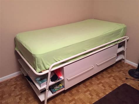 ikea morrum twin bed with storage ebay