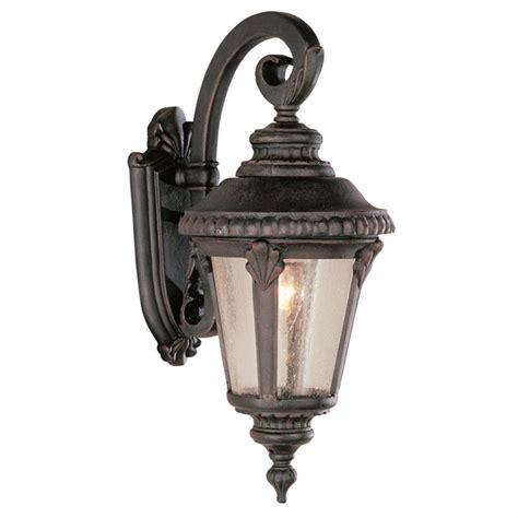 trans globe lighting 1 light outdoor black wall