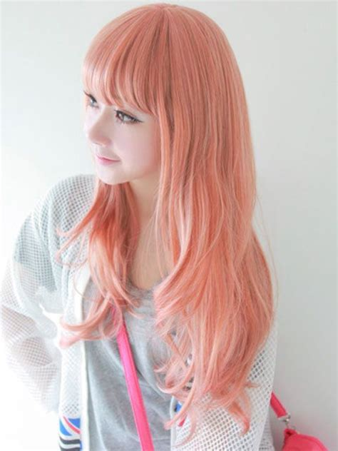 Orange Peach Dyed Hair Hair Peach Hair Peach Hair