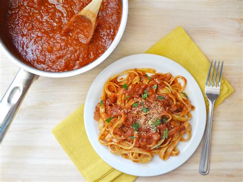 sauce cuisine how to no recipe tomato sauce genius kitchen