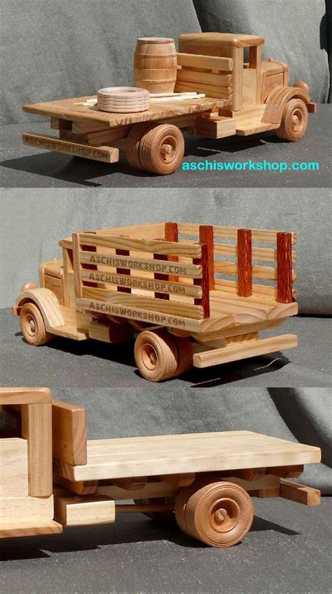 toy wood trucks images  pinterest wood toys