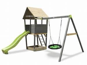 Kinder Spielturm Garten : kinder spielturm exit aksent spielturm nestschaukel mit rutsche sandkasten vom spielger te ~ Whattoseeinmadrid.com Haus und Dekorationen