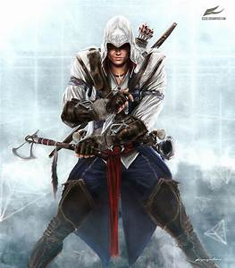 Connor Kenway by Eleze on DeviantArt