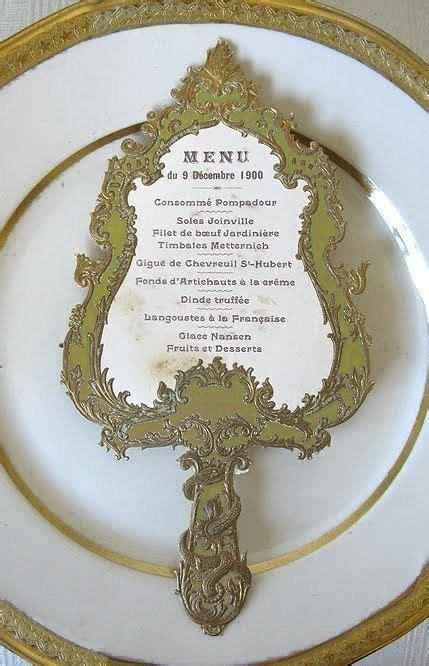 belles enchanted mirror menu card beauty   beast