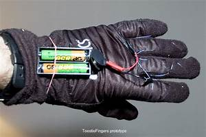 Toesties   How To Make Electric Finger Warmers For Gloves