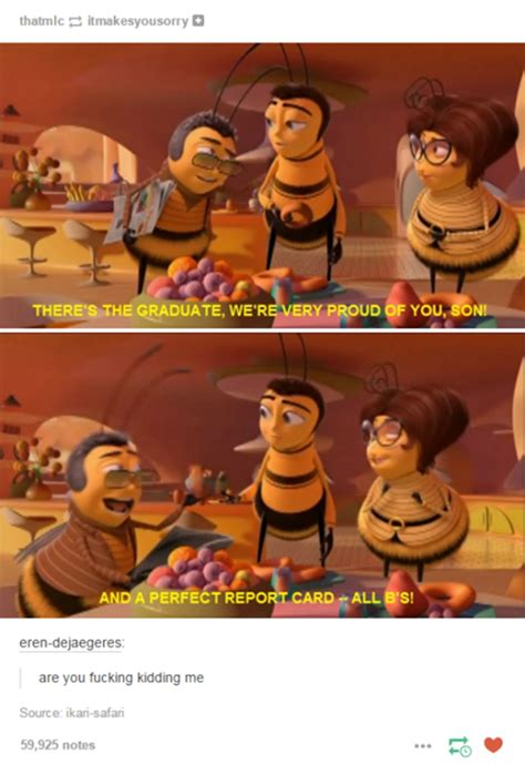 Bee Movie Memes - the perfect report card bee movie know your meme
