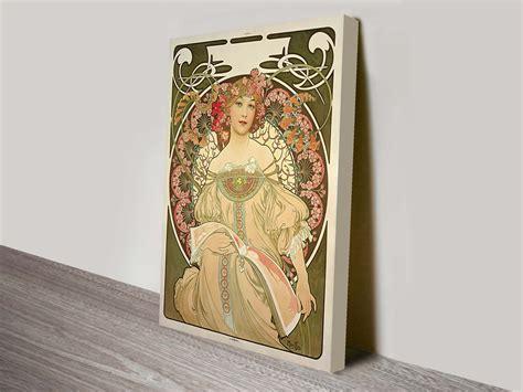 Vintage Art Nouveau Posters By Alphonse Mucha